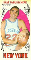 1969-70 Topps #85 Dave DeBusschere RC