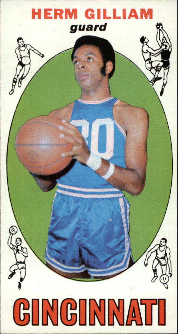 1969-70 Topps #87 Herm Gilliam RC
