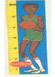 1969-70 Topps Rulers #10 Lew Alcindor