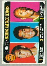 1970-71 Topps #2 Jerry West/Lew Alcindor/Elvin Hayes LL SP
