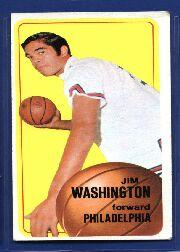 1970-71 Topps #14 Jim Washington