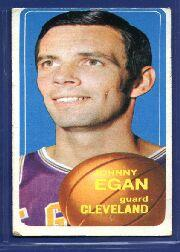 1970-71 Topps #34 Johnny Egan
