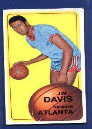 1970-71 Topps #54 Jim Davis