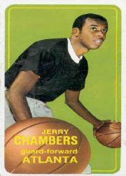 1970-71 Topps #62 Jerry Chambers SP RC