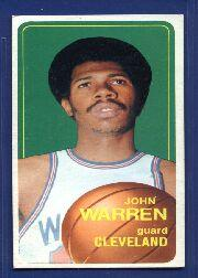 1970-71 Topps #91 John Warren