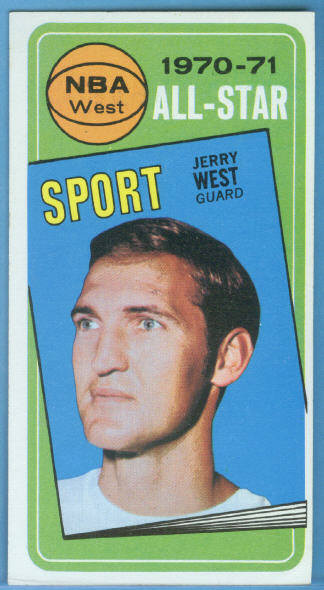1970-71 Topps #107 Jerry West AS