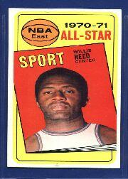 1970-71 Topps #110 Willis Reed AS
