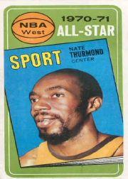 1970-71 Topps #111 Nate Thurmond AS