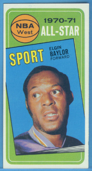 1970-71 Topps #113 Elgin Baylor AS