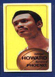 1970-71 Topps #117 Greg Howard
