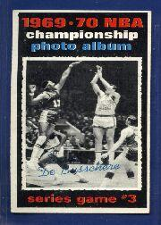 1970-71 Topps #170 Playoff G3/Dave DeBusschere