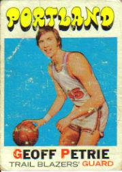 1971-72 Topps #34 Geoff Petrie RC front image