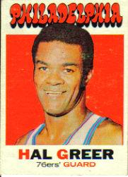 1971-72 Topps #60 Hal Greer
