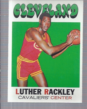 1971-72 Topps #88 Luther Rackley DP