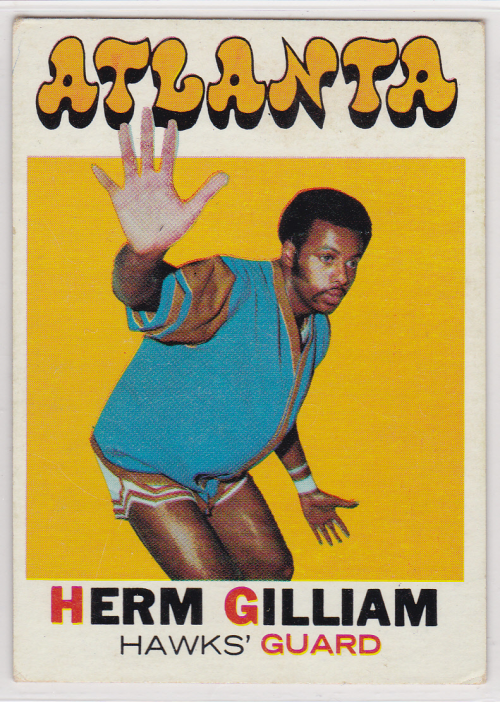 1971-72 Topps #123 Herm Gilliam DP
