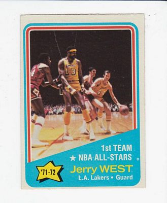 1972-73 Topps #164 Jerry West AS