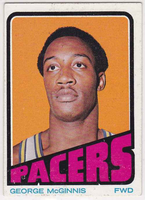 1972-73 Topps #183 George McGinnis RC