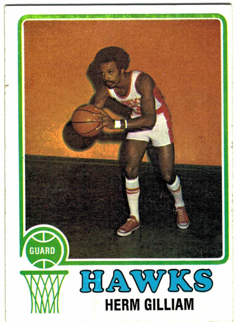 1973-74 Topps #106 Herm Gilliam