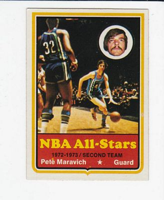 1973-74 Topps #130 Pete Maravich AS1