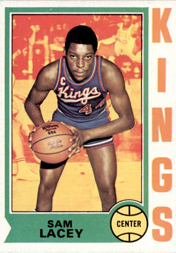1974-75 Topps #99 Sam Lacey
