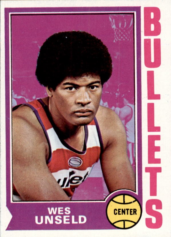 1974-75 Topps #121 Wes Unseld