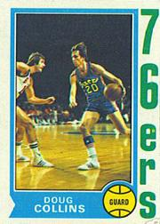 1974-75 Topps #129 Doug Collins RC