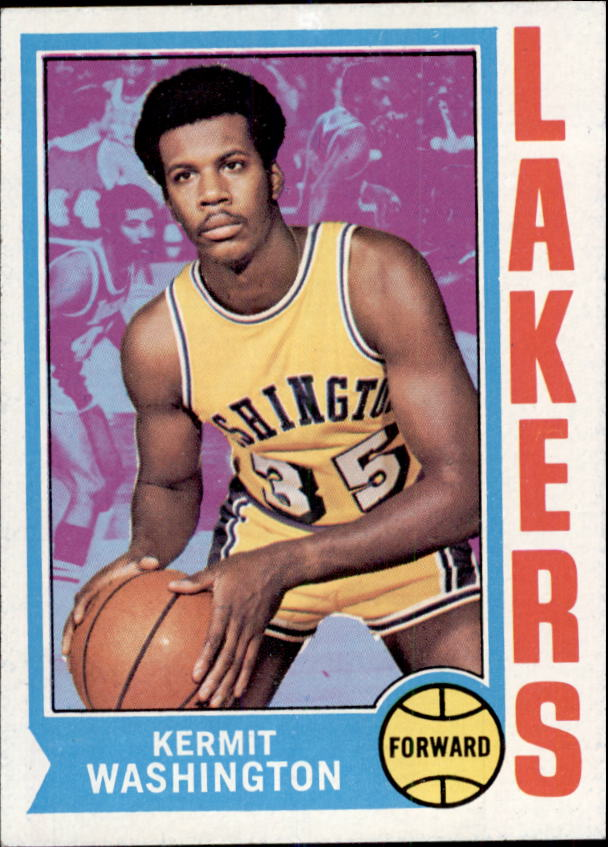 1974-75 Topps #166 Kermit Washington RC