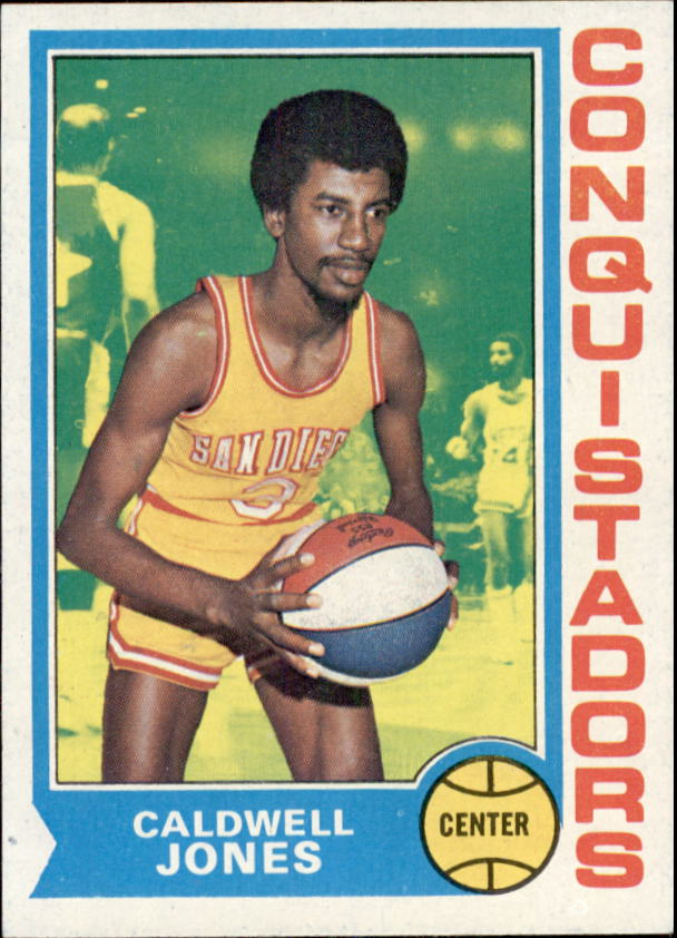 1974-75 Topps #187 Caldwell Jones RC