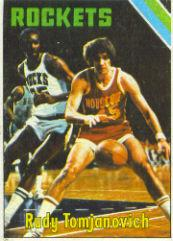 1975-76 Topps #70 Rudy Tomjanovich