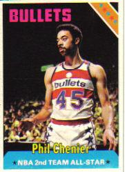 1975-76 Topps #190 Phil Chenier AS2 DP