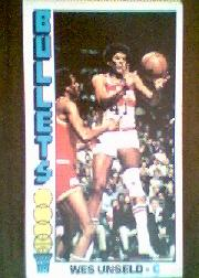 1976-77 Topps #5 Wes Unseld