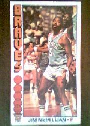 1976-77 Topps #9 Jim McMillian