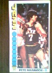 1976-77 Topps #60 Pete Maravich