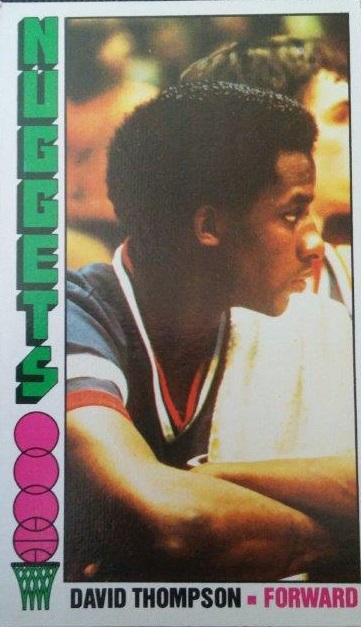 1976-77 Topps #110 David Thompson RC