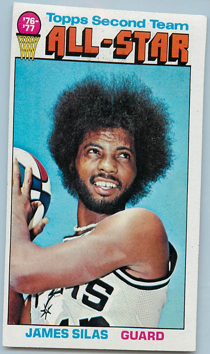1976-77 Topps #134 James Silas AS