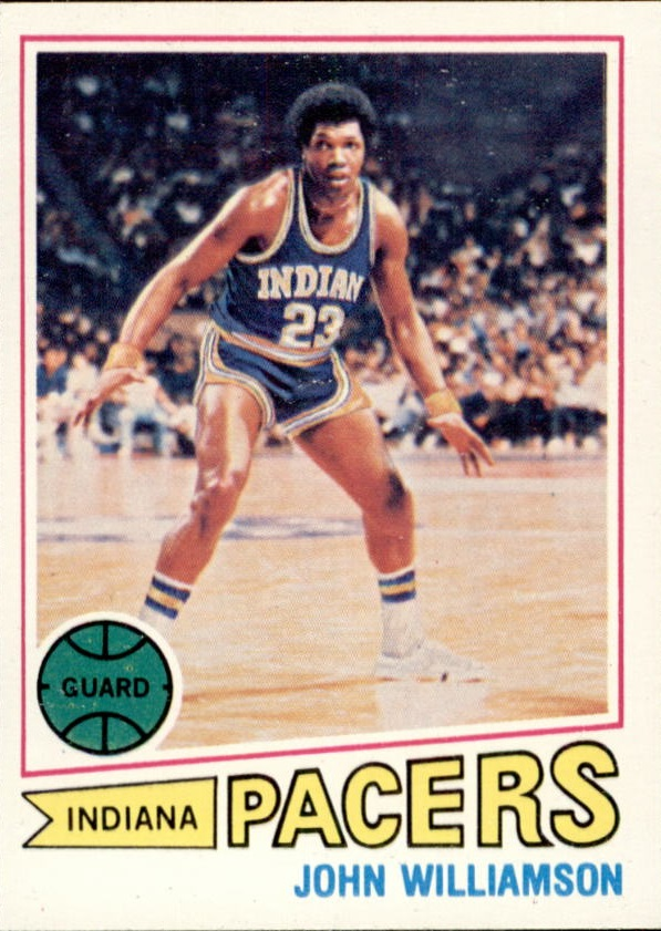1977-78 Topps #44 John Williamson