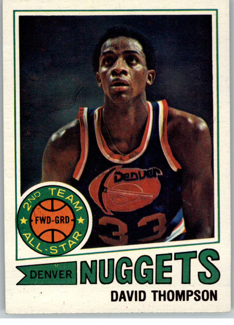 1977-78 Topps #60 David Thompson