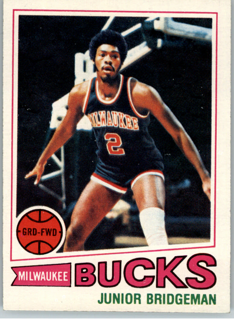 1977-78 Topps #114 Junior Bridgeman