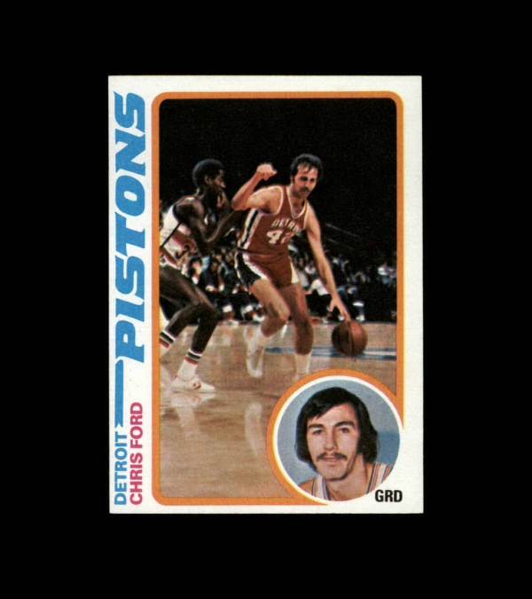 1978-79 Topps #15 Chris Ford