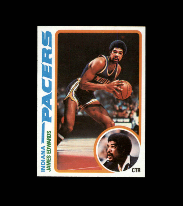 1978-79 Topps #27 James Edwards RC