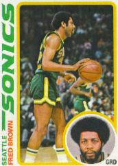 1978-79 Topps #59 Fred Brown
