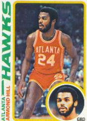 1978-79 Topps #70 Armond Hill RC