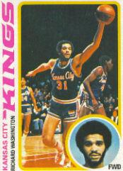1978-79 Topps #121 Richard Washington