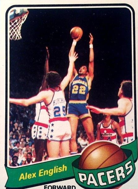 1979-80 Topps #31 Alex English RC