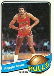 1979-80 Topps #44 Reggie Theus RC