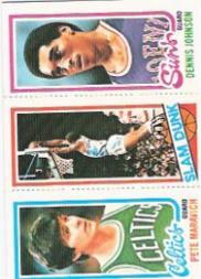 1980-81 Topps #8 38 Pete Maravich/264 Lloyd Free SD/194 Dennis Johnson
