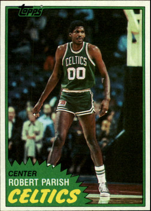 1981-82 Topps #6 Robert Parish front image