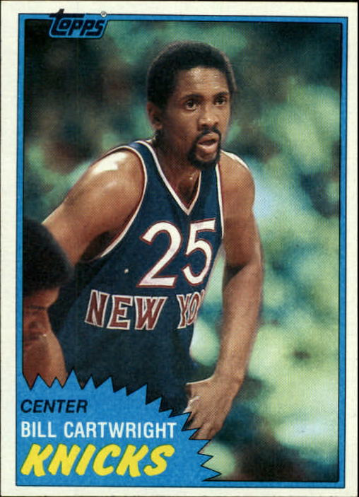 1981-82 Topps #26 Bill Cartwright
