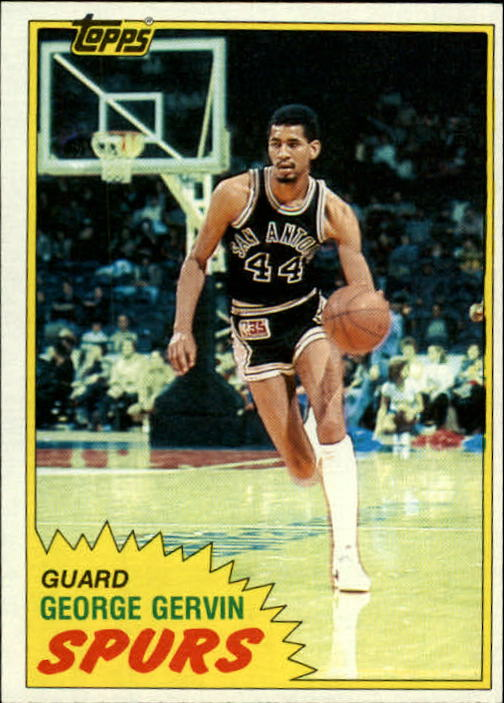 1981-82 Topps #37 George Gervin