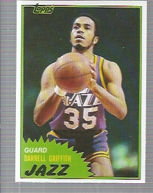 1981-82 Topps #41 Darrell Griffith RC